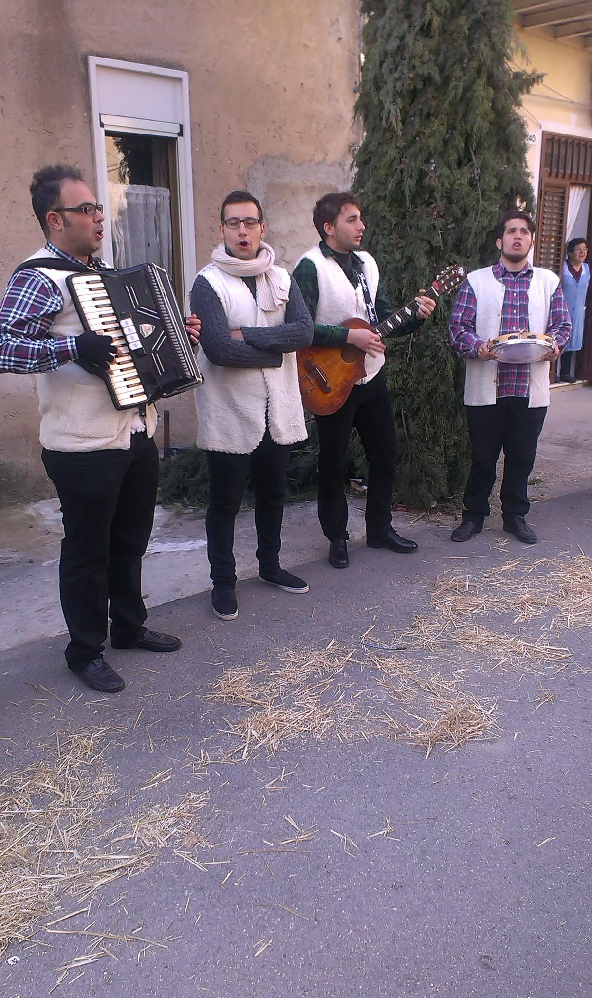 Presepe Montaperto Agrigento 2015
