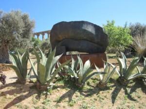 Scultura Mitorai al tempio di Giunone